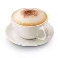 Cappuccino opgestoomde melk